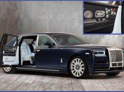 Rolls Royce unveiled the one-off Rose Phantom for flower-loving billionaire