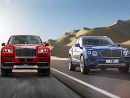 Which are the top luxury models? Rolls-Royce or Bentley cars?