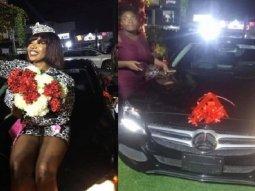 BBNaija Tacha gets brand-new Mercedes-Benz from fans on birthday