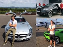 Top 10 richest footballers in the world & the cars they drive