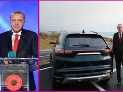 See video of Turkey's first indigenous electric car unveiled by President Erdogan