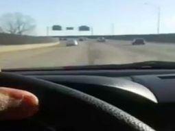 Man live-streamed himself driving at high speed and crashing car