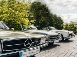 Have you seen any of these coolest classic cars from Mercedes-Benz
