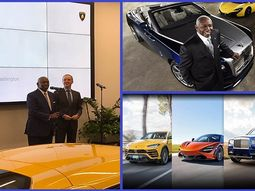 Meet the first African-American Rolls-Royce, McLaren & Lamborghini car dealer
