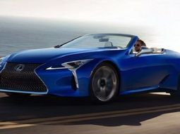 Lexus set to auction classic LC500 convertible for charity