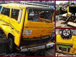 """Ghastly accident involving """"Vanagon"""