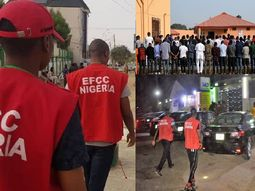 Scores of vehicles recovered as EFCC arrests 89 suspected yahoo boys at popular night club in Ibadan