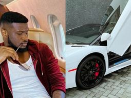 Former P–Square Mr. P shows off his ₦141m Lamborghini Aventador Roadstar