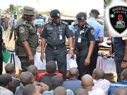 Police arrests 60 suspected robbers and kidnappers terrorizing motorists along Abuja, Niger, Kaduna highways