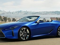 The very first 2021 Lexus LC 500 Convertible Inspiration Series Sells For jaw-dropping ₦723m