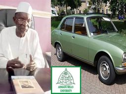 This Nigerian Professor drove a Peugeot 504 car from London to Kano in 24 days