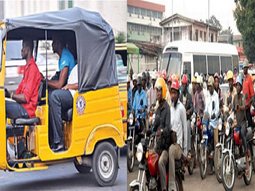 The ax falls! Lagos officially bans Okada & Keke operators in 15 LGAs/LCDAs