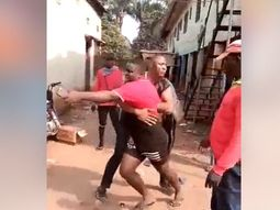 See the reaction of the police to the viral video of a fight between officer and tricycle operator