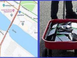 German artist tricks Google Maps into fake traffic jam in Berlin