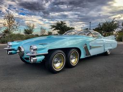 The amazing XF58 Ice Princess is a perfect blend of Cadillac and Studebaker