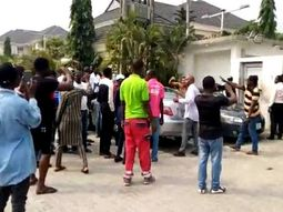 Uber drivers protest over VIO clampdown in Lagos