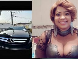 Nollywood Actress Biodun Okeowo acquires multimillion naira car