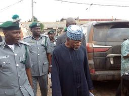 Customs impound 283 vehicles in mass seizures
