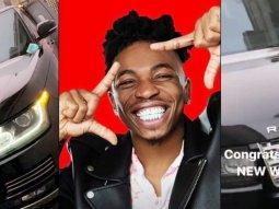 Nigerian popular singer Mayorkun buys a luxury Range Rover