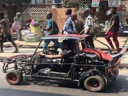 Unique Made-in-Nigeria car spotted in Lagos