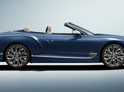 The new Bentley GT Convertible by Mulliner is pure luxury with 400,000 interior stitches