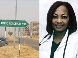 Heroine of the nation! Abuja names a major road after late heroic Dr Stella Ameyo Adadevoh