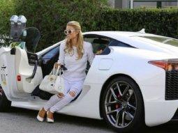 Paris Hilton's former Lexus LFA to be sold for ₦180.4 million