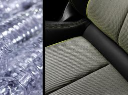Check out the seat upholstery in 2020 Audi A3, made from recycled plastic