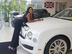 Celebrity blogger Linda Ikeji cries out over the cost of maintaining her ₦100m Bentley Mulsanne