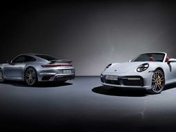 Check out photos of the newly revealed 2021 Porsche 911 Turbo S Coupe and Cabriolet