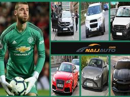 [Photos] See the fleet of luxury cars owned by Man. Utd Goalkeeper, David De Gea