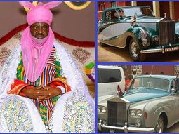 See these two iconic Rolls-Royce cars that the New Emir of Kano will inherit from Sanusi Lamido