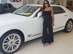 Bentley ditches Linda Ikeji's Mulsanne model due to slow sales and high demand for SUVs