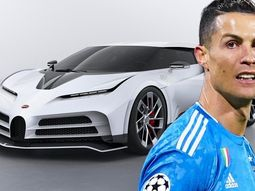 [Photos] Football star, Cristiano Ronaldo orders ₦3.3Billion Bugatti Centodieci hypercar