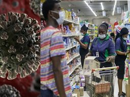 COVID-19: Panic-buying in Nigeria and nearest shops for stock buying
