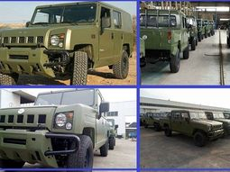 [Photos] Innoson produces military vehicles strong enough to survive a helicopter drop