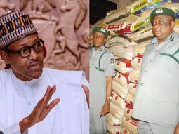 President Buhari orders Nigeria Customs to release 150 truckloads of rice to all 36 states