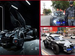 "[Video] Real life Batman spotted with the ""Batmobile"" supercar amidst Mexico COVID-19 lockdown"