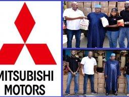 COVID-19: Sole distributor of Mitsubishi vehicles in Nigeria, Massilia Motors feeds 1,000 Lagos homes