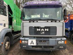 Foreign Used Man 26.372 2009 Model Silver