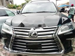 Foreign Used Lexus 570 2018 Model Black