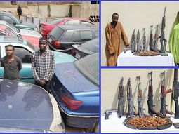 Police capture notorious man and woman car snatching syndicate, recovers 21 vehicles in Jos