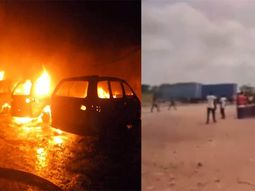 COVID-19 lockdown: Casual workers set ablaze and damage vehicle of Ogun-based Chinese company over unpaid wages