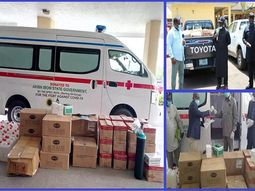 COVID-19: NPDC and NOSL donate ambulance and medical supplies to support Akwa Ibom State Government