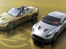 Check out these lovely hand-made Aston Martin Vantage V12 Zagato Heritage Twin cars