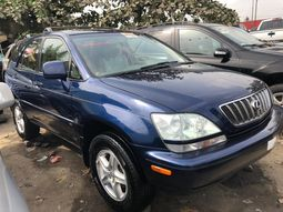 Well Maintained Foreign Used Lexus RX300 2003 Model