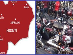 Ebonyi Police alongside COVID-19 team, arrests 50 youths and impounds 37 motorcycles during protest