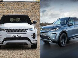 Land Rover releases Range Rover Evoque and Discovery Sport SUVs versions with 3-cylinder plug-in hybrid powertrain