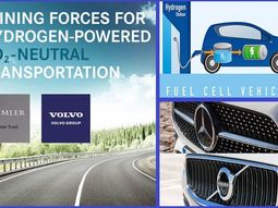 Volvo and Daimler set to begin large-scale production of Hydrogen-powered trucks and buses