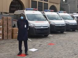 COVID-19: NNPC and its partners donate 6 ambulances with medical consumables to the South West states in Nigeria